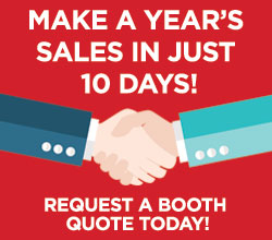 Make a year's worth of sales in just 10 days