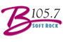 B 105.7 Soft Rock Logo