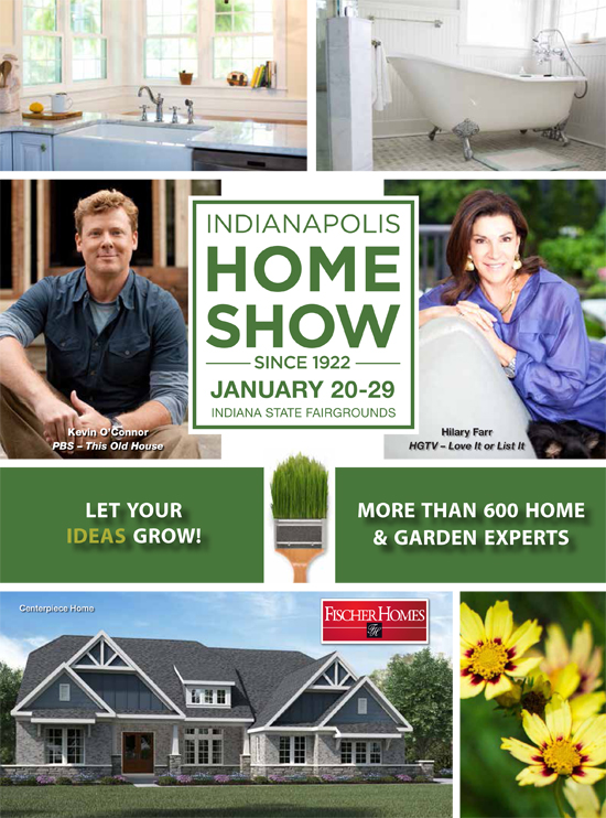 Cover of the Indianapolis Home Show, Show Guide